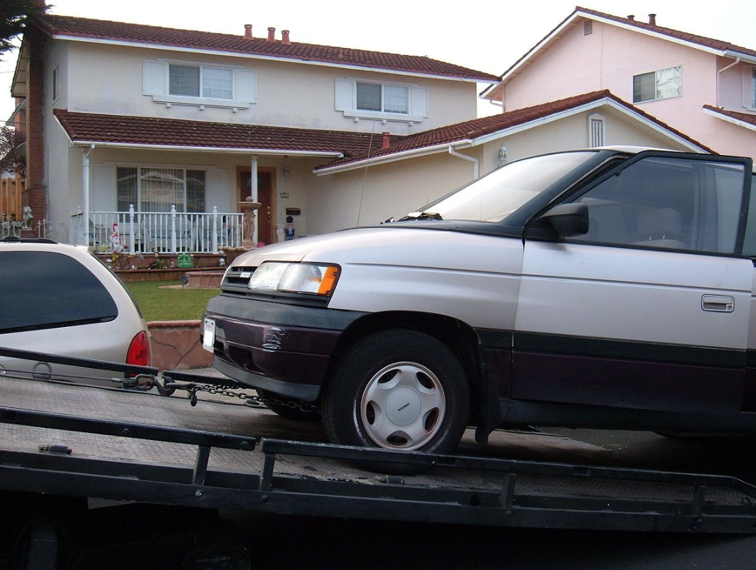 long-distance van towing